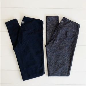 Set of Two Athleta Leggings Size XXS
